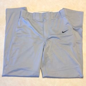 Nike Dri-Fit Gray Baseball Pants
